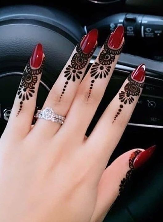 Pin By Geeth Gowda On Henna Designs In 2020 Hand Henna Henna Designs Henna Hand Tattoo