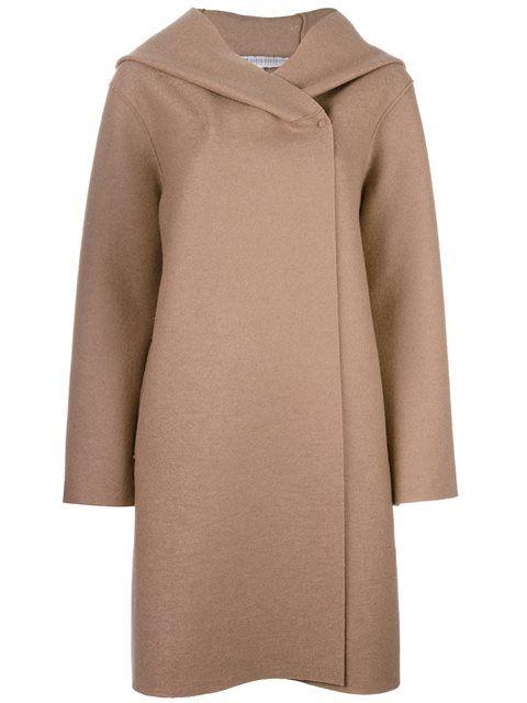 HARRIS WHARF LONDON double breasted coat. #harriswharflondon #cloth #schurwollmantel