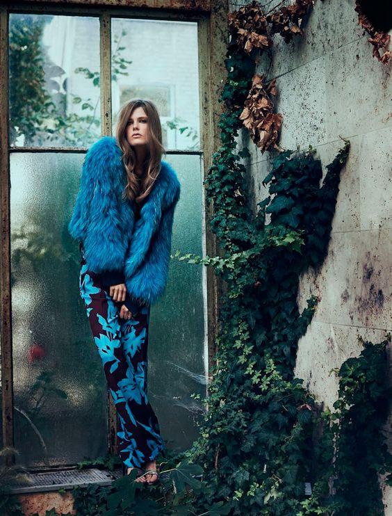 Caroline-Brasch-Eurowoman-November-2014-9 #moda #neovintage #fashion: