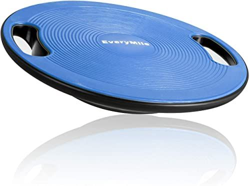 New Everymile Wobble Balance Board Exercise Balance Stability Trainer Portable Balance Board Handle Workout Core Trainer Physical Therapy Gym 15 7 Diameter In 2020 Balance Board Balance Board Exercises Physical Therapy
