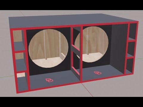 Cbs Viruz Fusion 218 Speaker Box 18 Inch Speaker