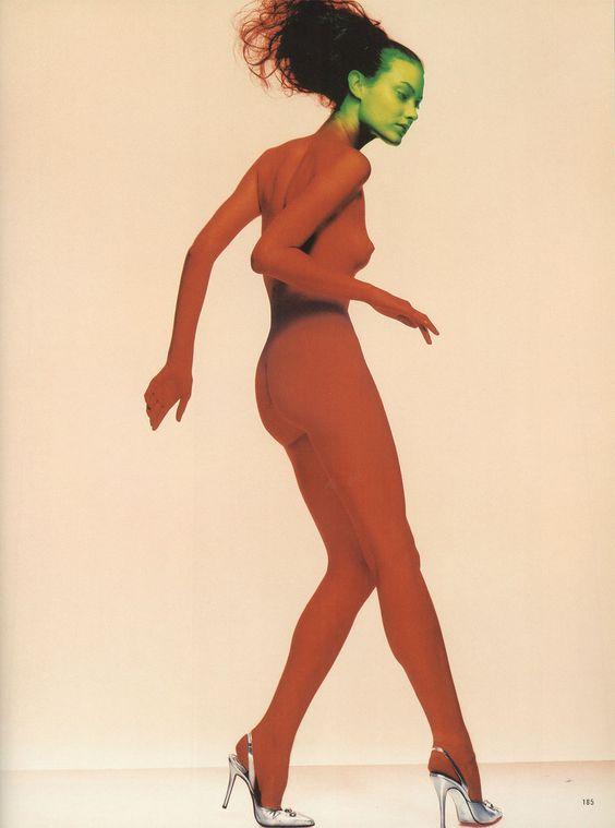 shalom, british vogue (1995) photography nick knight fashion photography of the nineties