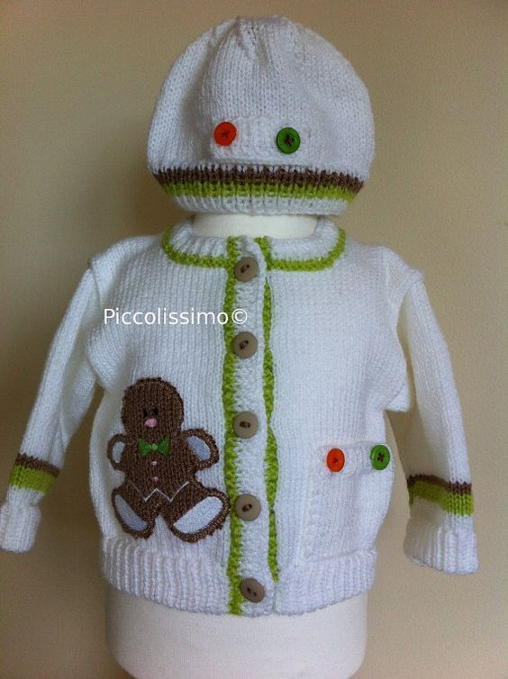 Gingerbread Man Jumper Knitting Pattern : Available now knitting pattern for a 20