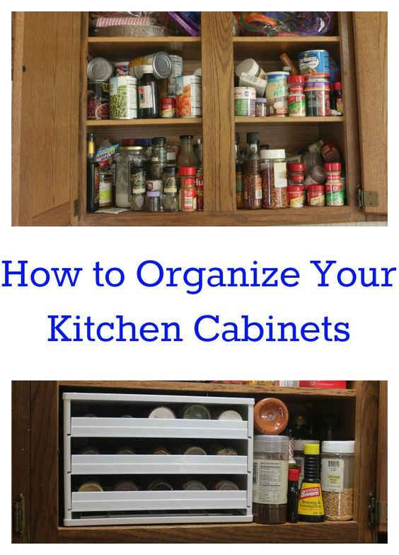 how to organize your kitchen cabinets how to organize spices and kitchen cabinets on 17168