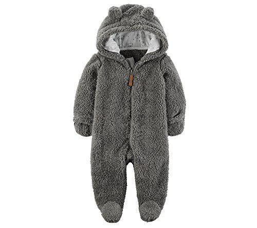 Carters Baby Girls Snuggly Infant Snowsuit Pram