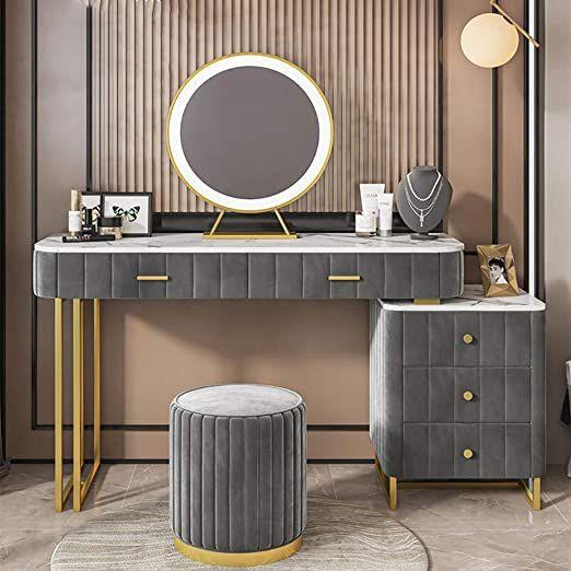 Beauty Room Decor Bedroom Door Design, Dressing Room Mirror With Light Furniture