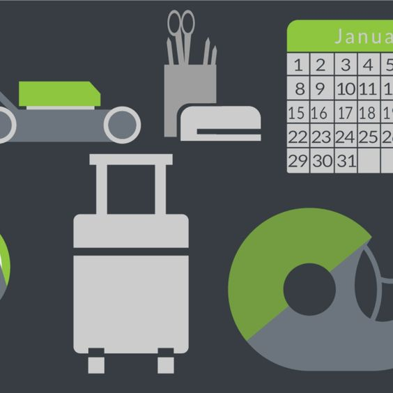 Download Free Vector - Home and Office - Illustrator Icon Vector Set Vector Download