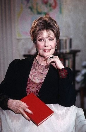 Loretta Young....She married fashion designer Jean Louis in 1993. Louis died in 1997. Young was godmother to Marlo Thomas (daughter of TV star Danny Thomas).