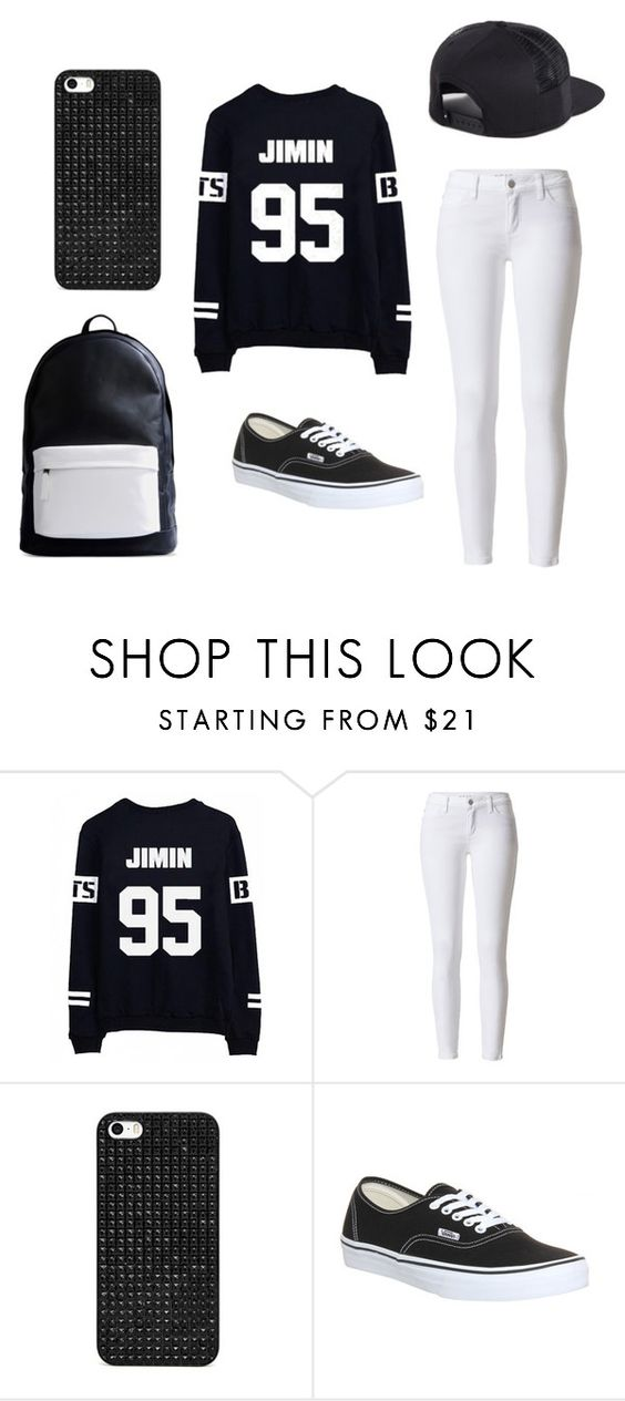 """""""#140"""" by bangtan-life ❤ liked on Polyvore featuring BaubleBar, Vans and PB 0110"""