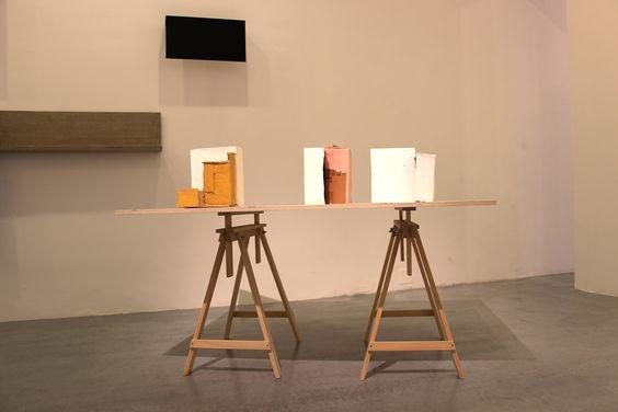 """Carlos Bunga. Exposición Colectiva """"25 años"""" Galería Elba Benitez #Madrid #Arte #ArteContemporáneo #Arterecord 2015 https://twitter.com/arterecord"""