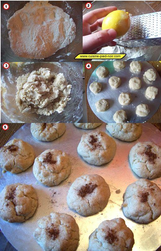 Montecaos ou mantecado - la recette en images - petit biscuit sablé espagnol
