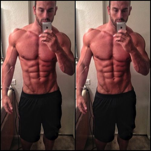 @Bradley Martyn | Abs | Pinterest | Male Physique