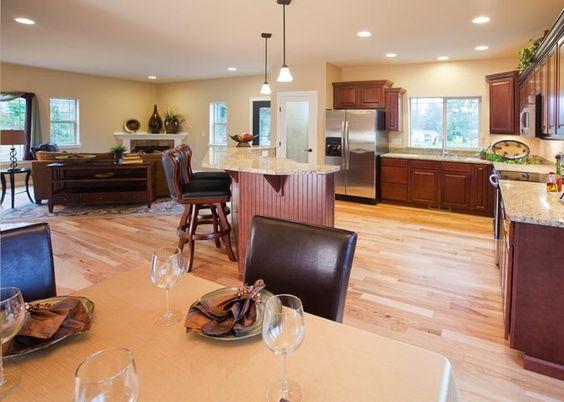 Lexar Homes Airy Open Floor Plan Lexar Kitchens