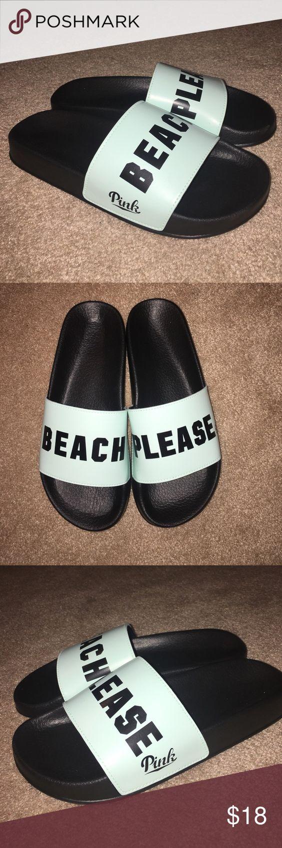 Sandals vs shoes - Victoria S Secret Pink Sandals Vs Pink Sandals Size Large Pink Victoria S Secret Shoes Sandals