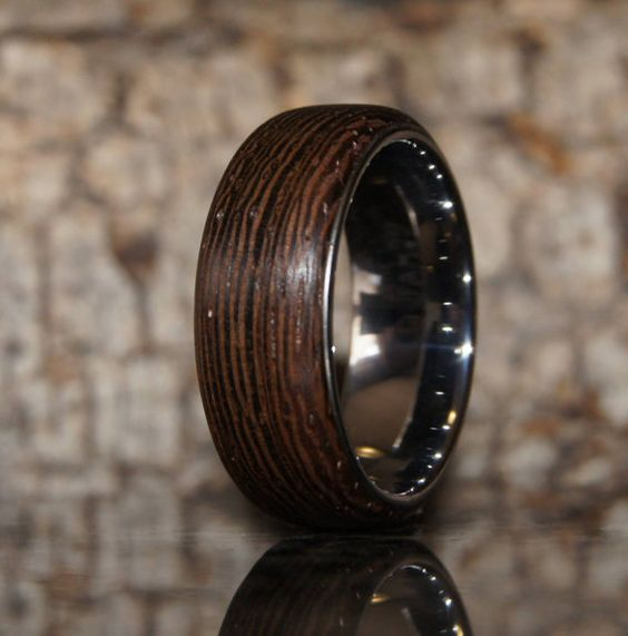 the o jays wedding and wood rings on