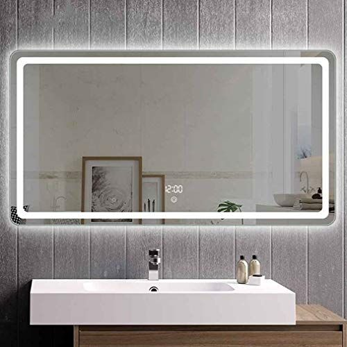 Qz Stylish Bathroom Mirror Multi Function Led Vanity Mirror