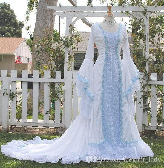 Narnia Style Victoria Velvet And Lace Fantasy Medieval Fairy