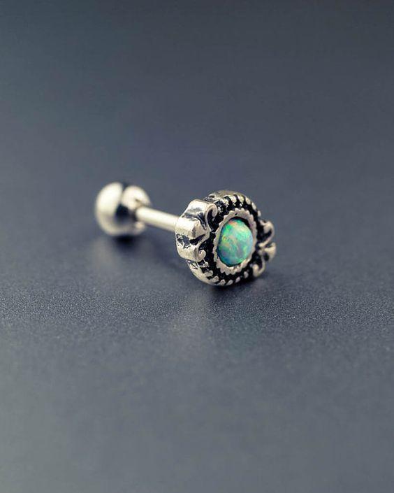 Knorpel-Ohrring Knorpel piercing Helix piercing von JennyAndWind