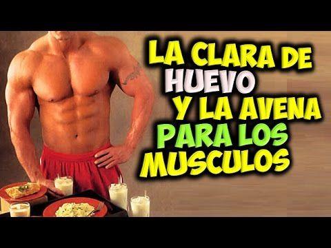 la clara de huevo es buena para aumentar masa muscular