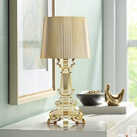 Possini Euro Baroque Gold Accent Table Lamp 20r02 Lamps Plus Gold Accent Table Table Lamp Modern Table Lamp