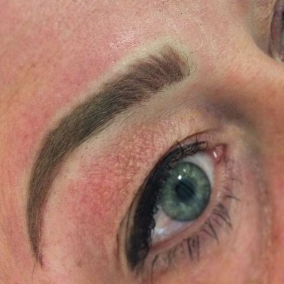 Eyebrow Tattoo by Angela Drexel Hill PA    www.permenentcosmeticsbyangela.com Permanent makeup at Upper Darby Inkwell