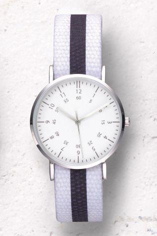 Mono Stripe Interchangeable Strap Watch at Next