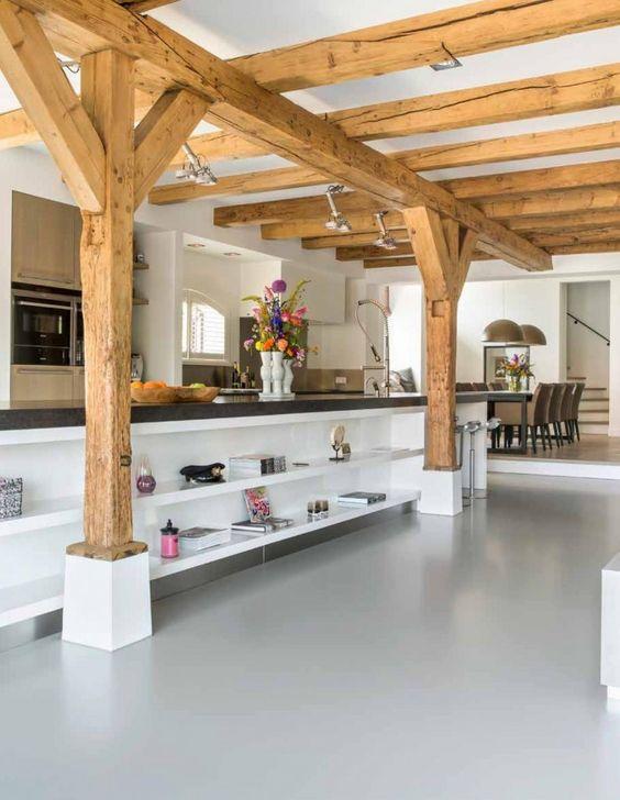 Handgemaakte leef keuken in landelijkstijl JACOB keukens Apeldoorn i.s ...