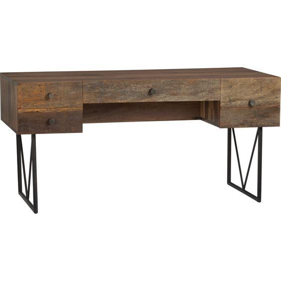 rustic office furniture - Google Search