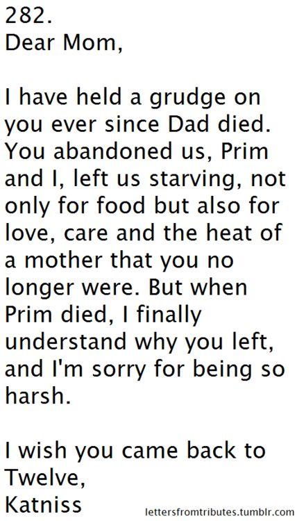 dear mom :'(