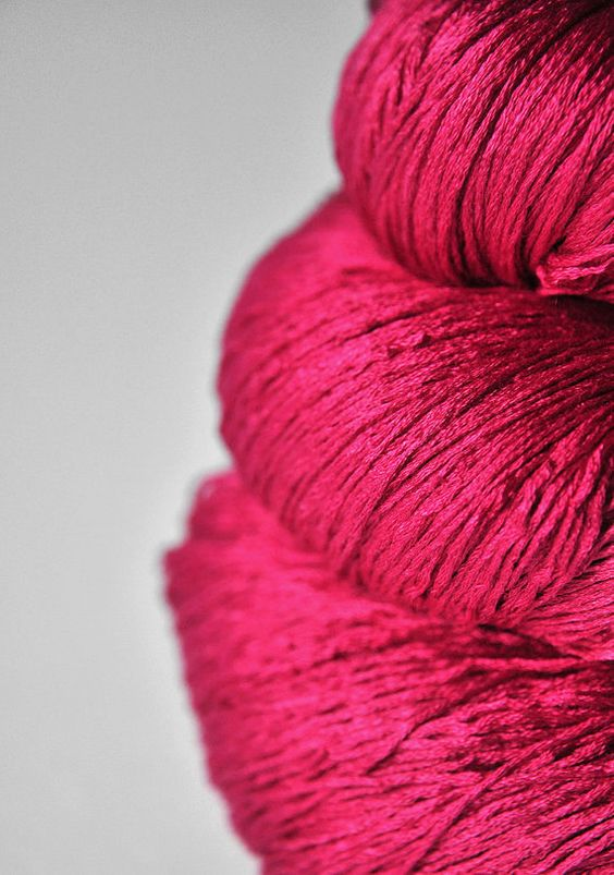 electric pink silk: