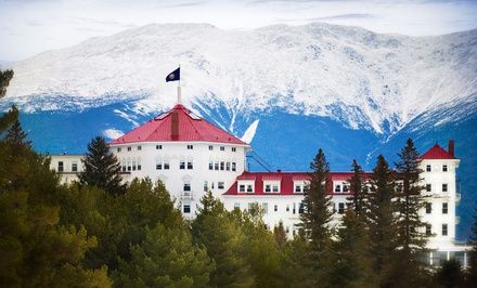 Take a canopy tour or unwind with an herbal spa treatment at this luxurious, AAA Four Diamond resort in the White Mountains