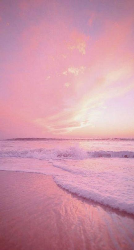 Wallpaper Pink Sky Iphone 61 Ideas Pink Wallpaper Iphone Beach Wallpaper Sunset Wallpaper