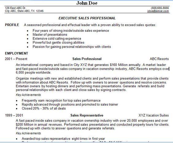 Sales Management Resume RESUME Pinterest Sales management - channel sales resume