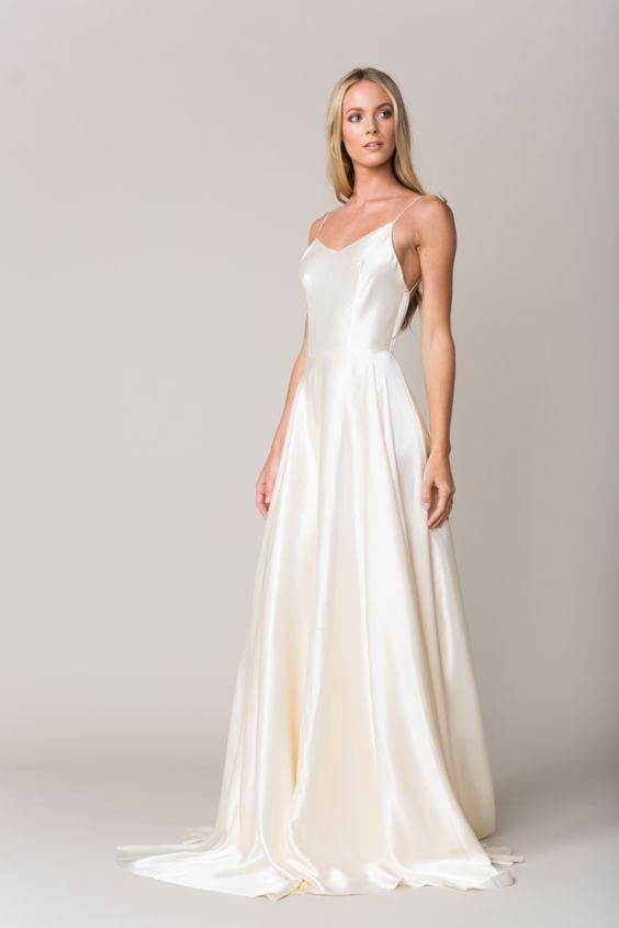 Silk wedding dress | Provence by Sarah Seven