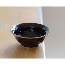 和食器 天目釉小鉢 作家「多屋嘉郎」