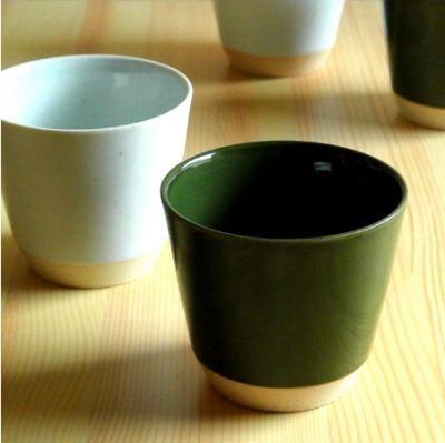商品詳細 [h+]STカップ(ホワイト・グリーン) | 神楽坂暮らす。通信 - 和食器 和雑貨 販売 通販 東京 代官山