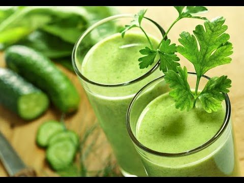 Suco Verde - Receita Potente Para Desinchar e Emagrecer