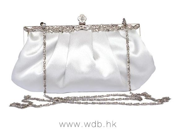 Vintage silk made crystal frame bag $13.99