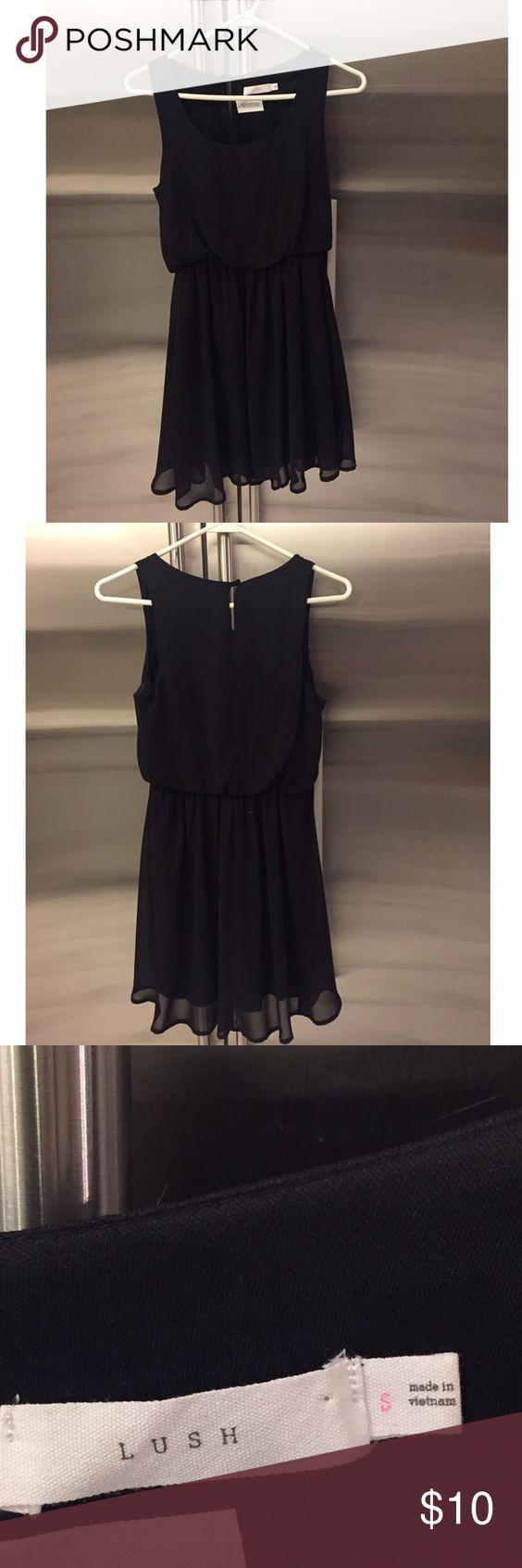 Lush size small black dress Lush size small black dress Lush Dresses Mini