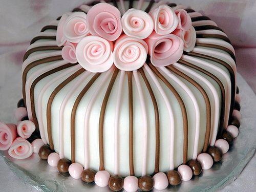 Decorating Ideas > Creative Birthday Cake Decorating Ideas For Girls  Cakes  ~ 163039_Fondant Cake Ideas Girl Birthday