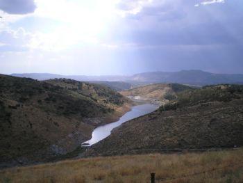 View from Baños de la Encina castle.