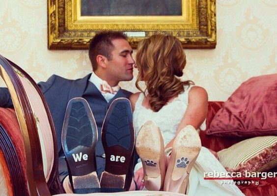 Perfect for a Penn State wedding.