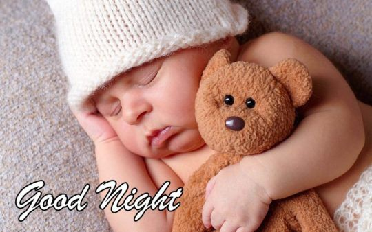 Good Night Cute Baby Sleeping Images Wallpapers Good Night Image Good Night Images Cute Sweet Good Night Images