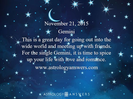 The Astrology Answers Daily Horoscope for Saturday, November 21, 2015 #astrology