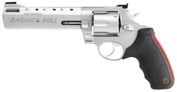 """Taurus Model 454 Raging Bull Stainless 454 Casull Revolver 6.5"""" 5 Round BLEM - $689.99"""