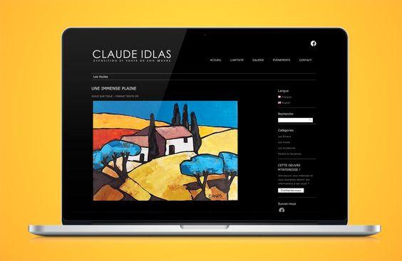 Claude Idlas - Site Web