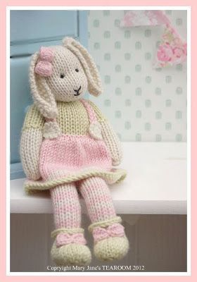 Mary Jane's TEAROOM: Toy Knitting Patterns