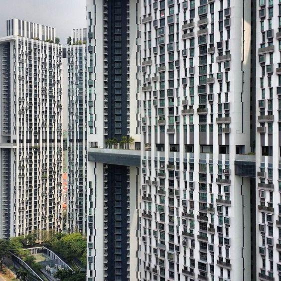 The Pinnacle @ Duxton. #exploresingapore #accommodation #publichousing #buildings #singapore