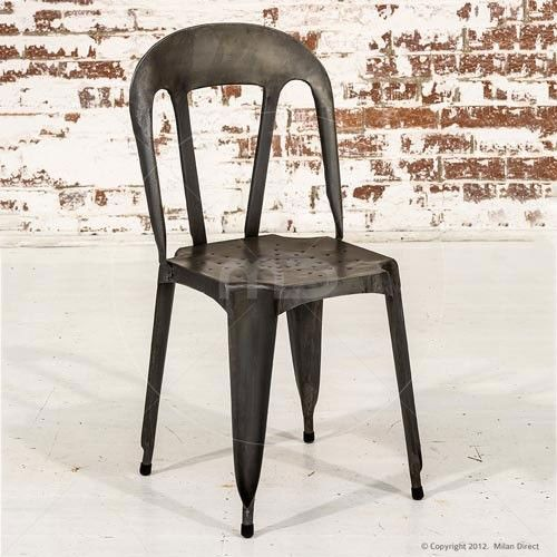Bistro Chair   Industrial   Buy Vintage Outdoor Chairs U0026 Vintage Barber  Chairs   Milan Direct $129 | WISH LIST.... | Pinterest | Bistro Chairs,  Industrial ...