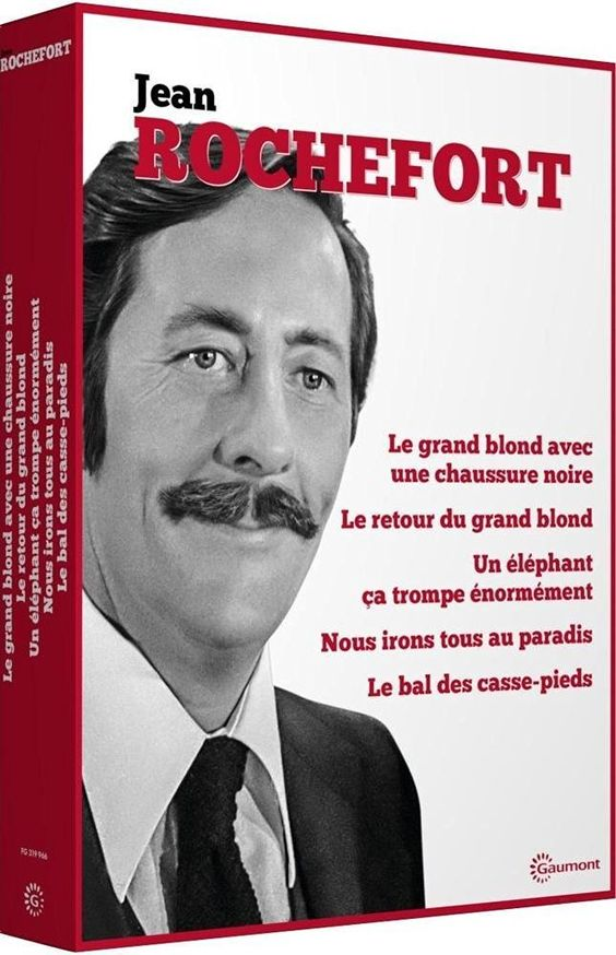 Coffret Jean Rochefort: Amazon.fr: Jean Rochefort, Pierre Richard, Mirelle Darc…